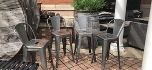 Steel counter height chairs for Sale in Ashburn, VA
