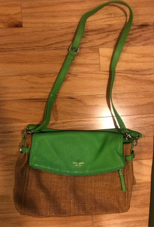 Lovely Green Kate Spade Purse for Sale in Tampa, FL