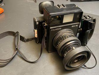 Polaroid 600se W/127mm 4.7 Lens for Sale in San Francisco,  CA