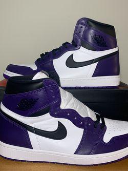"Jordan 1 ""Court Purple"" 2.0 for Sale in Atlanta,  GA"