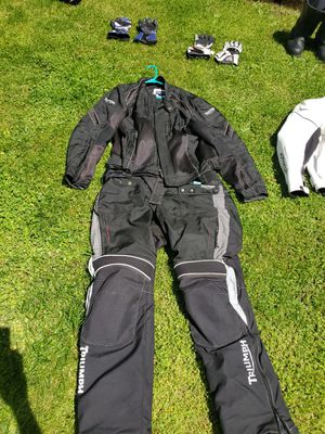 Triumph motorcycle racing suit. for Sale in Tacoma, WA