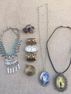 8 piece jewelry lot for Sale in Glendale, AZ