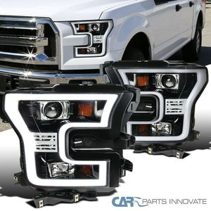 15-17 Ford F150 Pickup Pearl Black LED Rim Projector Headlights Head Lamps for Sale in Downey, CA