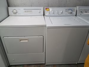 KITCHEN AID WASHER WITH GAS DRYER HEAVY DUTY SET CLEAN 🏡WE DELIVER SAME DAY! for Sale in Dana Point, CA
