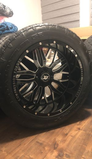22x12 brand new wheel for ram or jeeps for Sale in Houston, TX