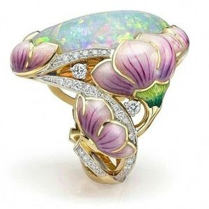 Luxury Gorgeous Beautiful Lotus Flower ring size 5 for Sale in White Hall, WV