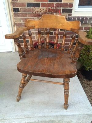 Vintage, Antique Captains chair for Sale in Nashville, TN