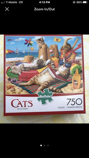 """NEW!!! 750 Piece Puzzle """"BEACHCOMBERS"""" CATS for Sale in Torrance, CA"""