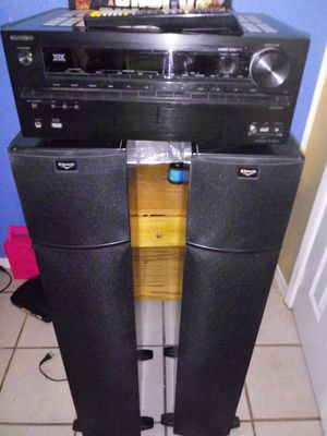 Onkyo and klipsch for Sale in Dallas, TX