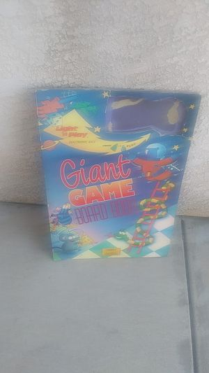 Light n play giant game board book for Sale in Oceano, CA