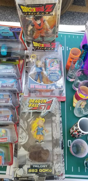 Dragon ball z collectibles prices are different for Sale in San Jose, CA