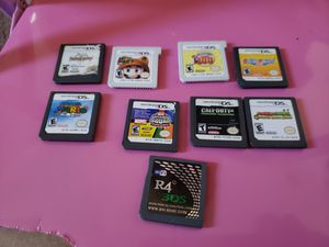 Nintendo DS/3DS games! *PRICES BELOW*!!! for Sale in Victorville, CA