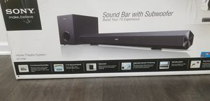 Sony HT-CT60 Sound Bar + Subwoofer for Sale in Ashburn, VA