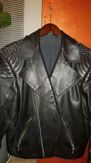 Mens leather jacket for Sale in Seattle, WA