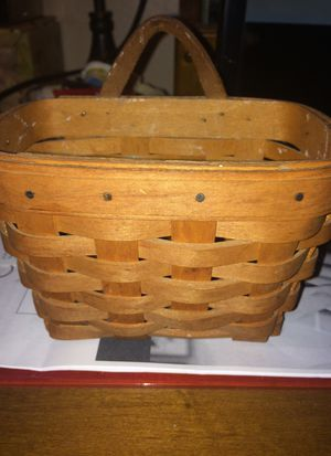 "Longaberger mini basket 6"" by 3.5"" for Sale in North Olmsted, OH"