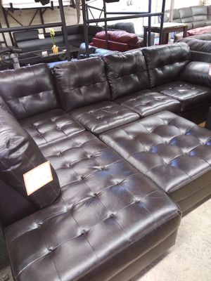 Ashley's Brand New Sectional With Ottoman for Sale in Glen Burnie, MD