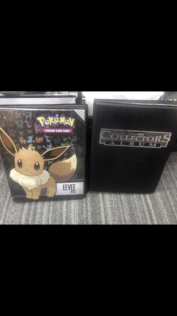 Pokemon and Yugioh cards album collection