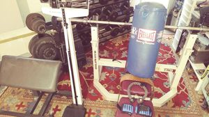 Weight set. Everything for 500$ for Sale in Melrose Park, IL