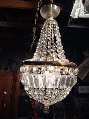 Vintage, antique antique chandelier for Sale in Quincy, IL