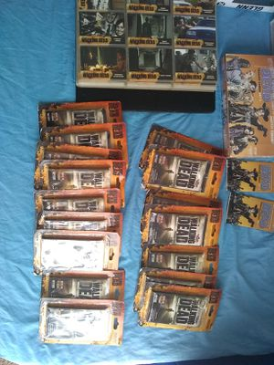 Walking Dead action figure collection for Sale in Golden, CO