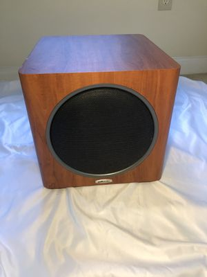 Polk Audio PSW110 Powered subwoofer (Cherry) for Sale in Fort Washington, MD