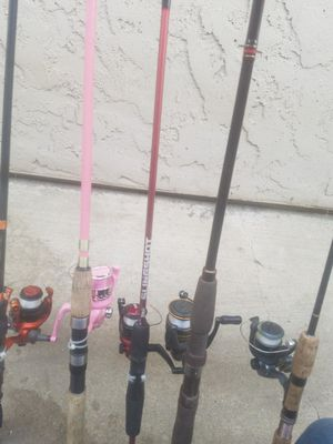 Fishing ROD'S an REEL'S for Sale in Fresno, CA