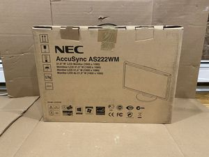 """NEC AccuSync AS222WM 22"""" LED touchscreen monitor for Sale in Brooklyn, NY"""