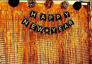 3Pcs Orange Metallic Tinsel Foil Fringe Curtains,3.28ft x 6.56ft Orange Photo Booth Backdrop Curtain,Photo Booth Props,Ideal for Sale in La Habra Heights, CA