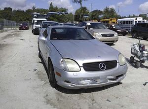 Mercedes SLK 230, 2000 , for parts only for Sale in Clearwater, FL