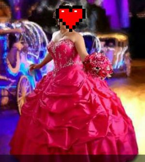 Hot Pink Quinceanera Dress for Sale in Edinburg, TX