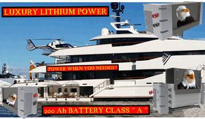 Lithium Battery 200AH ** A ** for Sale in Fort Lauderdale, FL