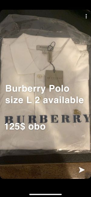 Burberry polo for Sale in Howell Township, NJ