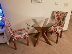 Dining table with two chairs for Sale in Fort Wayne, IN