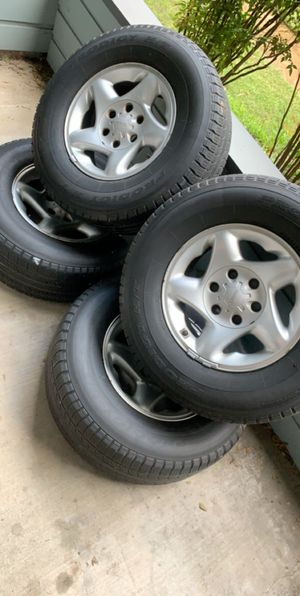 """4 16""""Rims & Tires for Toyota Sequoia.. BEST OFFER for Sale in Austin, TX"""
