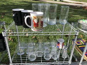 Assorted Glassware (25 pieces) for Sale in Davenport, FL