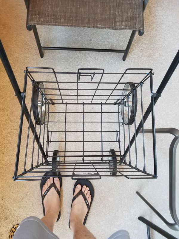Easy Wheels Mitey Folding Shopping Cart