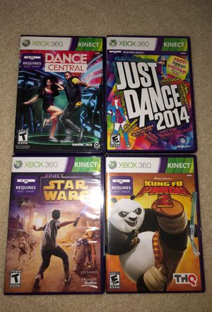 Xbox 360 Kinect Games for Sale in Plano, TX