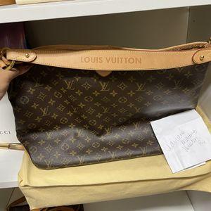 Authentic Louis Vuitton Delightful Mm Monogram for Sale in Deer Park, TX