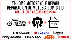 MOTORCYCLE REPAIR Honda Yamaha kawasaki Harley ktm triumph suzuki PAINTING / RESTORATIONS for Sale in North Miami Beach, FL