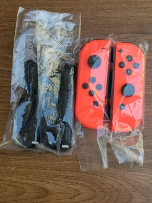 Nintendo Switch Neon Red Joy-Cons Like New for Sale in Rosemead, CA