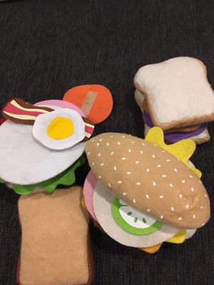 Kids toys - build a sandwich for Sale in District Heights, MD