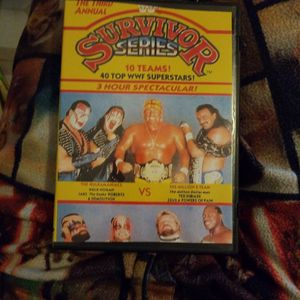 Wwf Survivor series The Third Annual Dvd for Sale in Chicago, IL