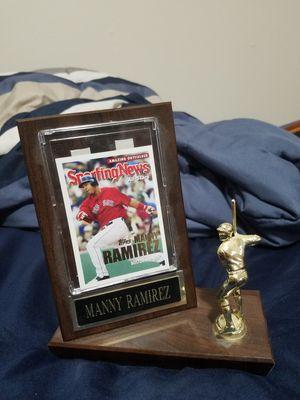 Manny Ramirez Red Sox Plaque for Sale in Deerfield Beach, FL