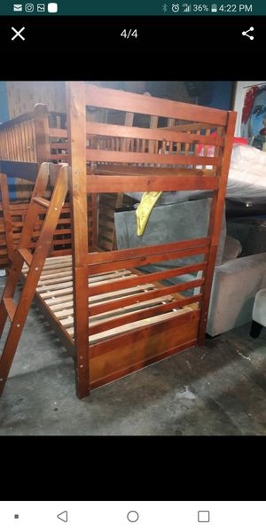 Bunk beds twin size for Sale in Long Beach, CA