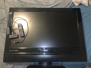 Tv works like brand new and new Roku with remote for Sale in Mauldin, SC