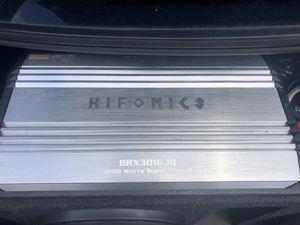 Hifonics Brutus BRX3016.1D for Sale in St. Petersburg, FL