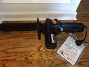 """WORX 14"""" Corded Chainsaws for Sale in Stone Mountain, GA"""