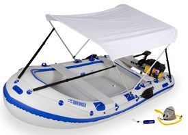 Sea Eagle 124smb inflatable motor mount boat for Sale in Portland, OR