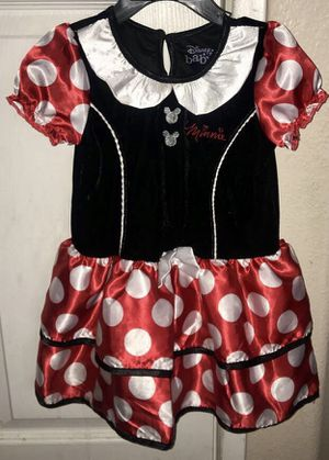 Minnie Mouse toddler costume set size 2t for Sale in Moreno Valley, CA