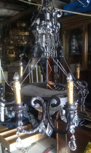 26×30 black chandelier for Sale in Cheverly, MD